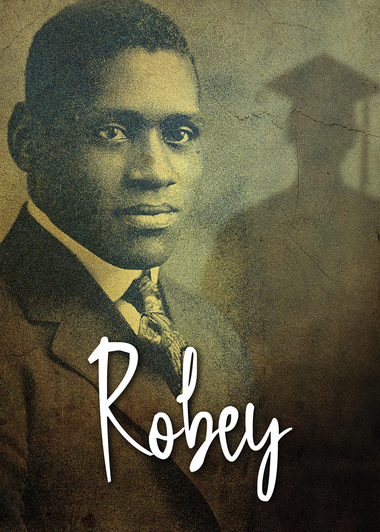 Key Art from Robey (2019). Image of Paul Robeson from when he graduated Rutgers University (then College) in 1919.